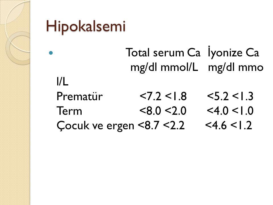 Hipokalsemi