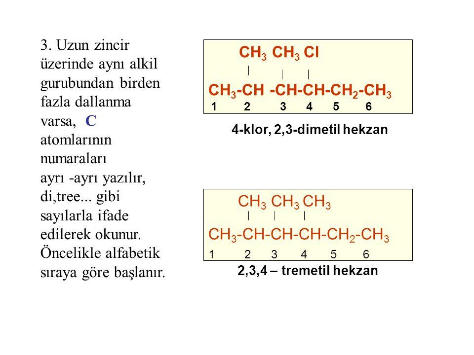 ayrı -ayrı yazılır, di,tree... gibi sayılarla ifade edilerek okunur.