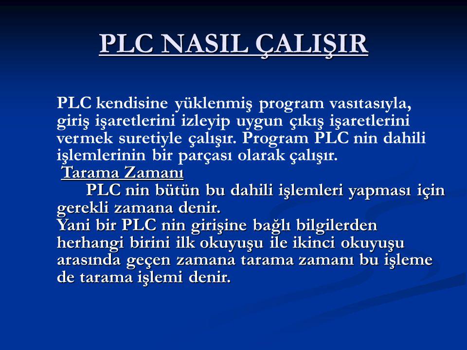 PLC NASIL ÇALIŞIR