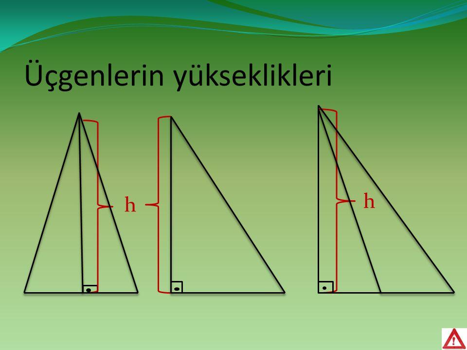 Üçgenlerin yükseklikleri