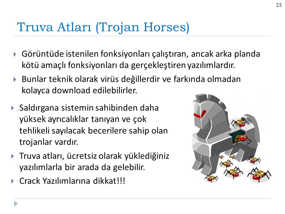 Truva Atları (Trojan Horses)