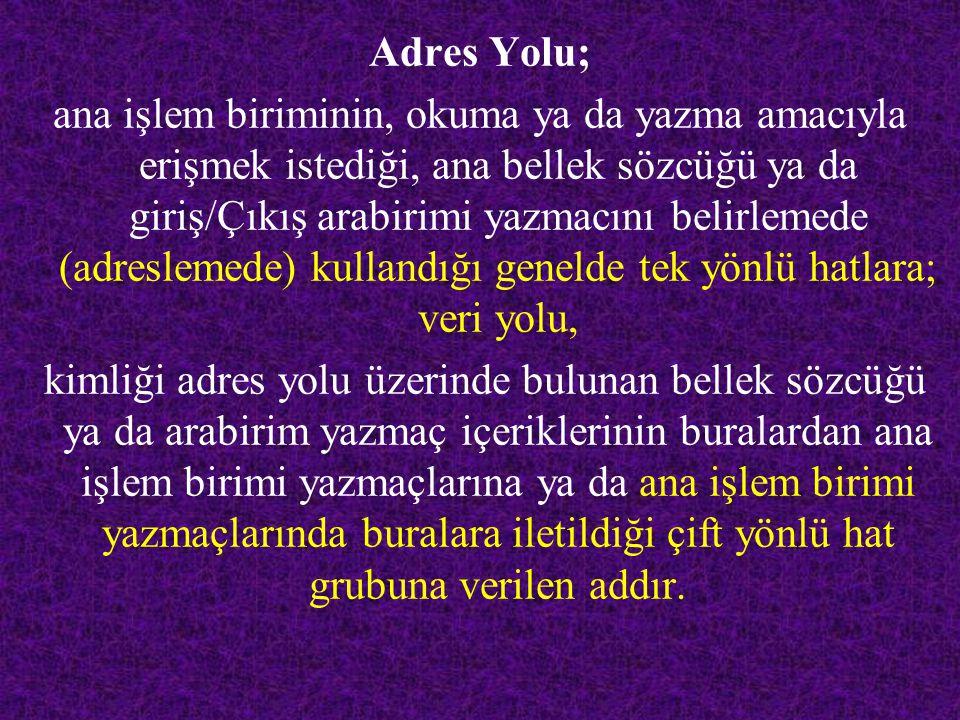 Adres Yolu;