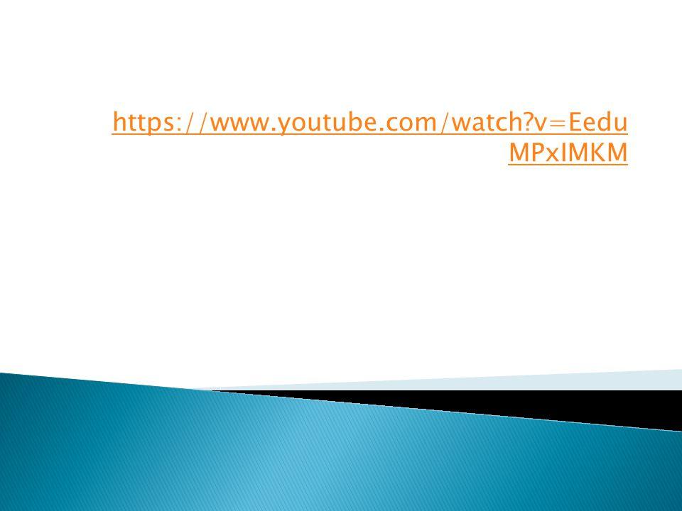 https://www.youtube.com/watch v=Eedu MPxIMKM