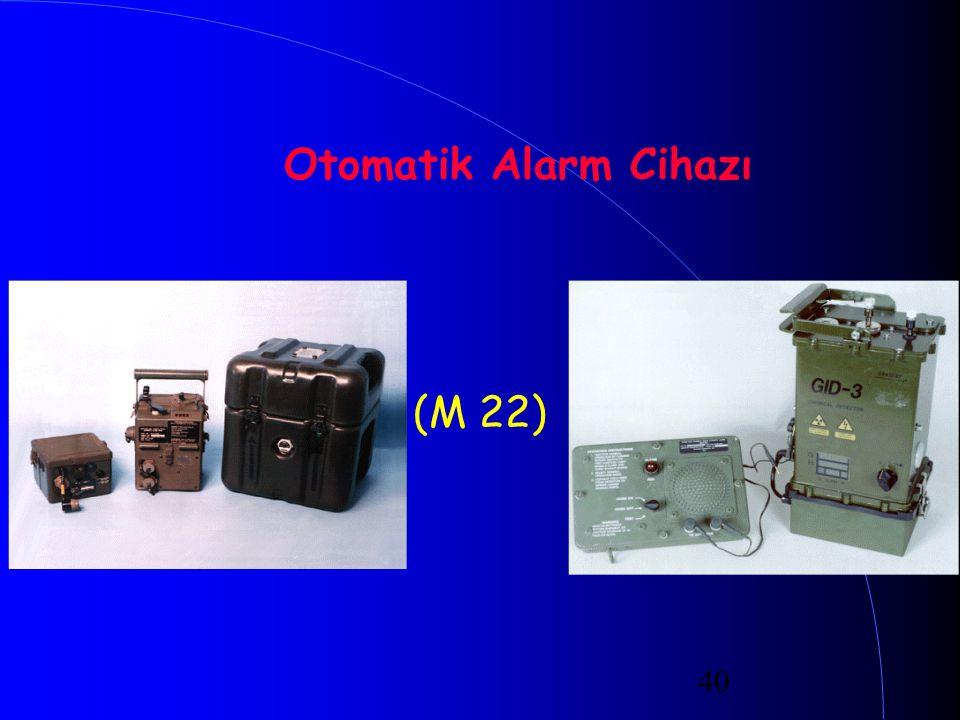 Otomatik Alarm Cihazı (M 22)