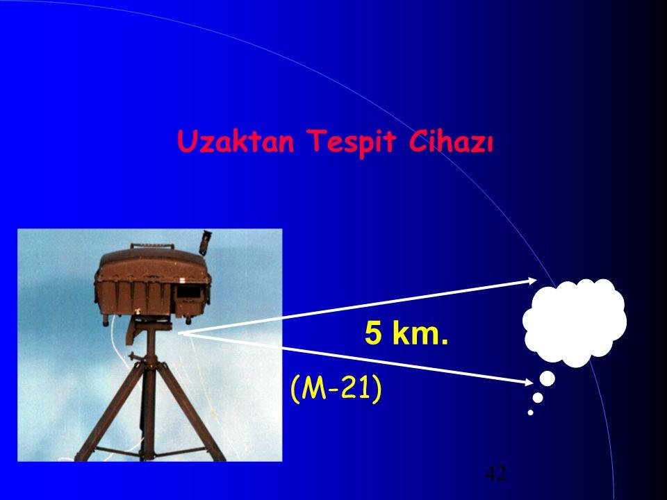 Uzaktan Tespit Cihazı (M-21) 5 km.