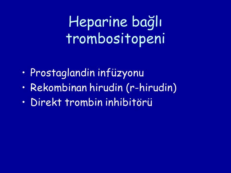 Heparine bağlı trombositopeni