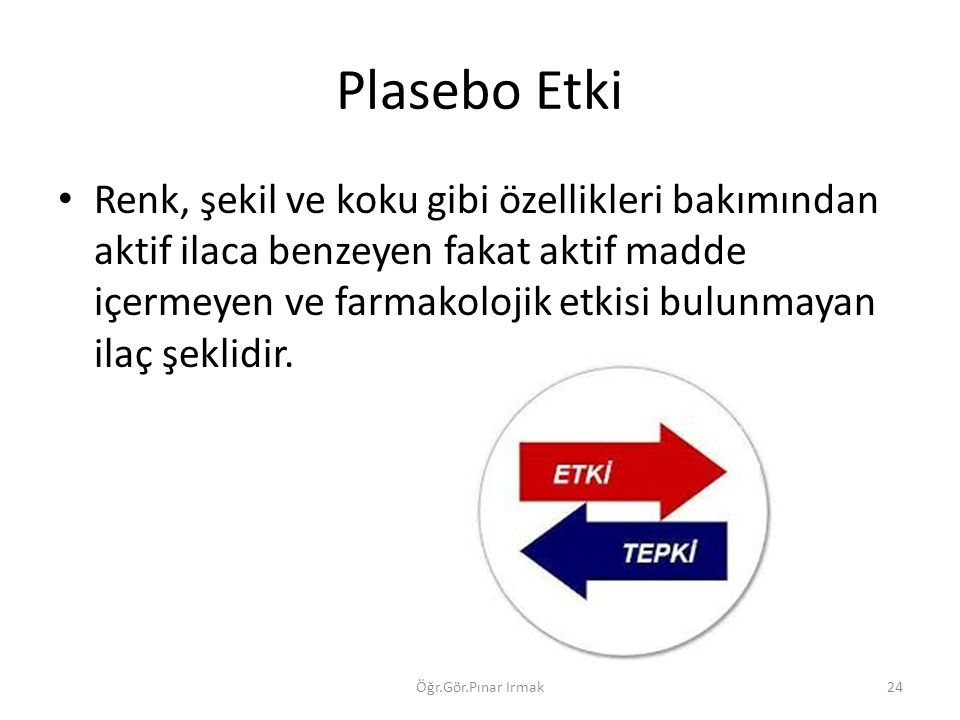 Plasebo Etki