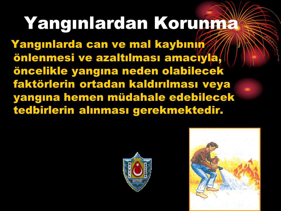 Yangınlardan Korunma