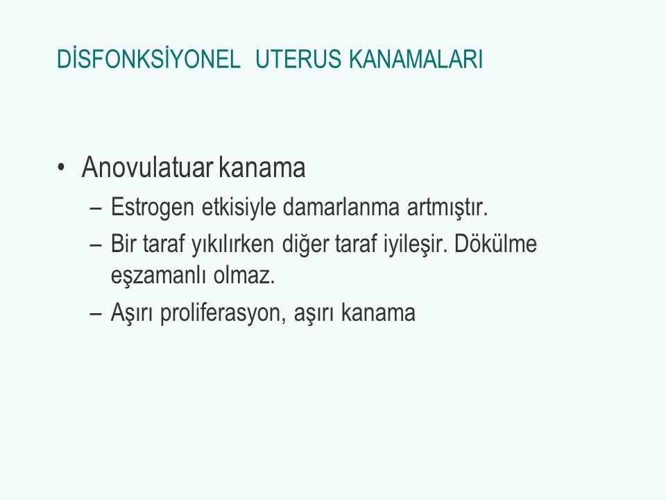 DİSFONKSİYONEL UTERUS KANAMALARI