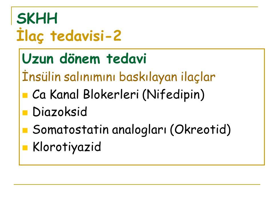 SKHH İlaç tedavisi-2 Uzun dönem tedavi