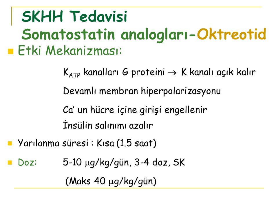 SKHH Tedavisi Somatostatin analogları-Oktreotid