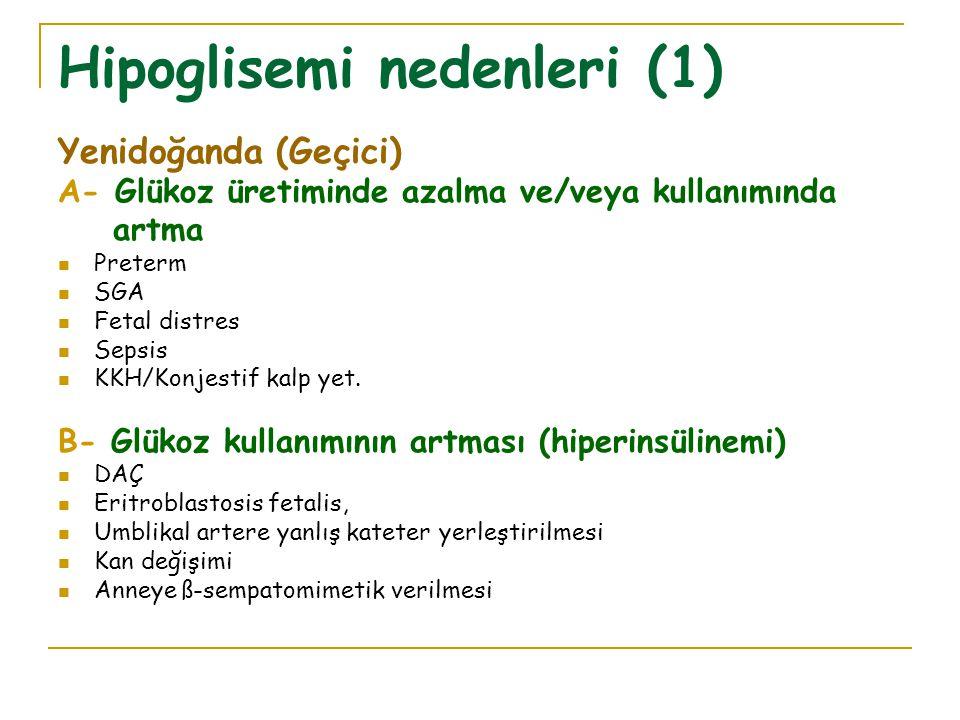 Hipoglisemi nedenleri (1)