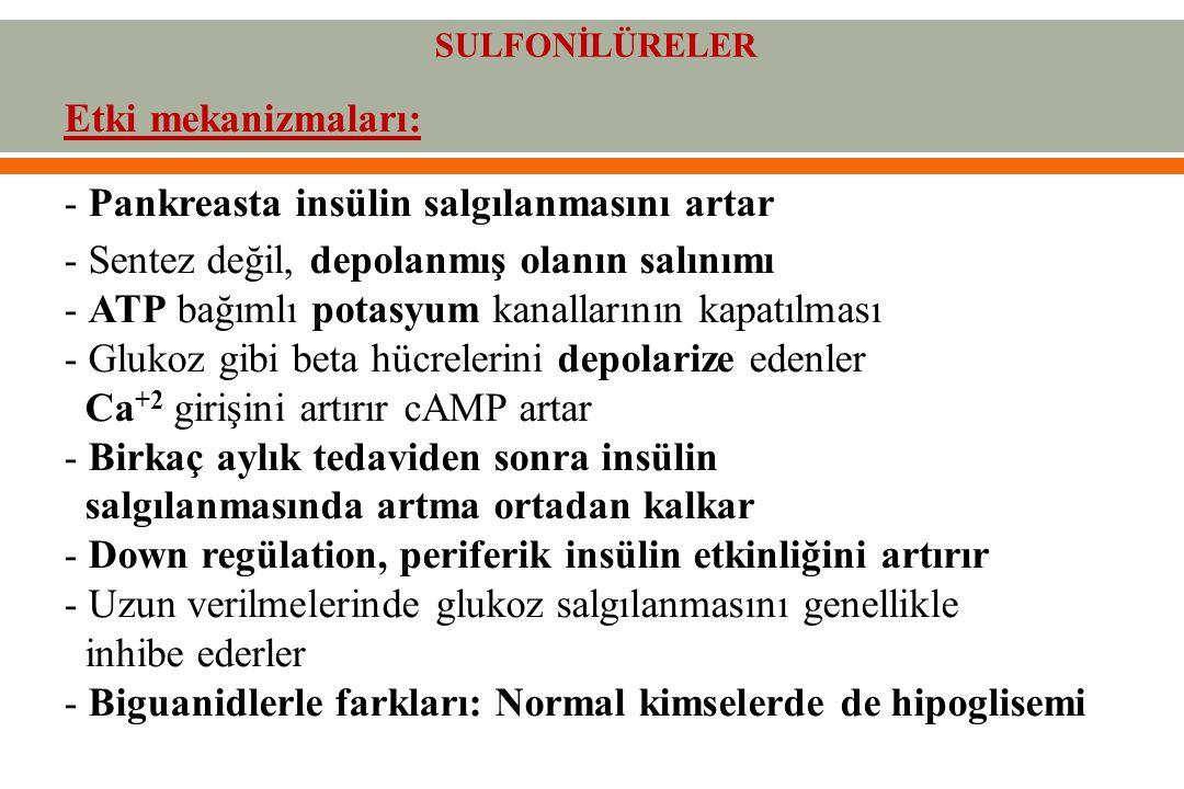 SULFONİLÜRELER