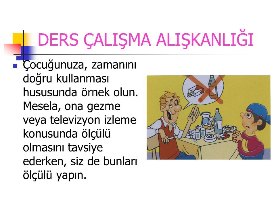 DERS ÇALIŞMA ALIŞKANLIĞI