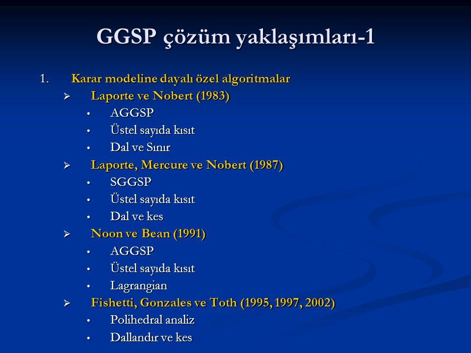 GGSP çözüm yaklaşımları-1