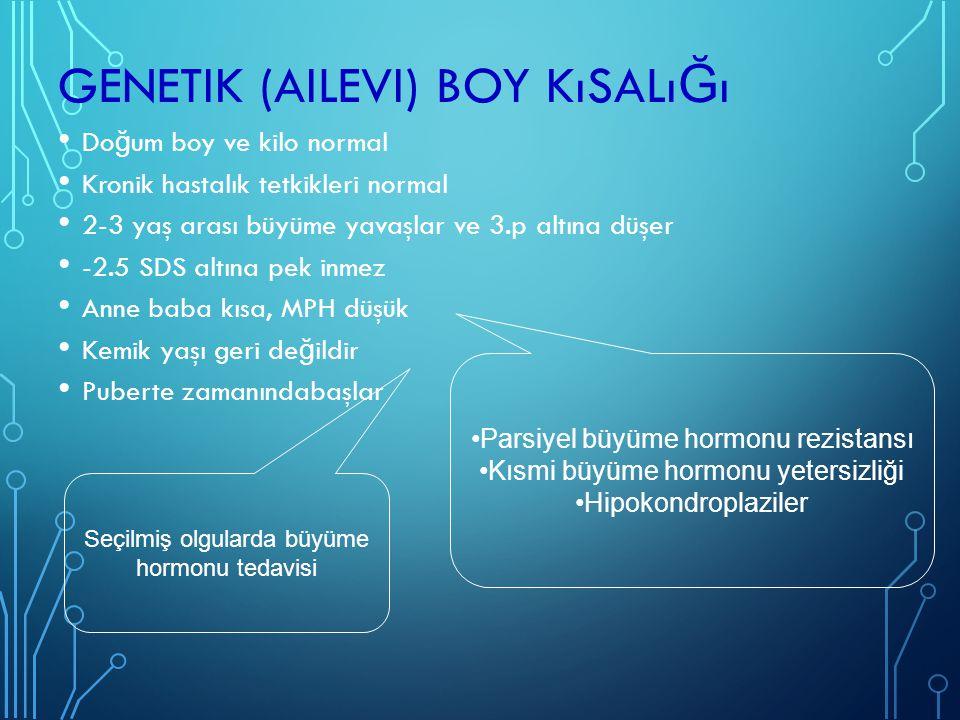 Genetik (ailevi) boy kısalığı