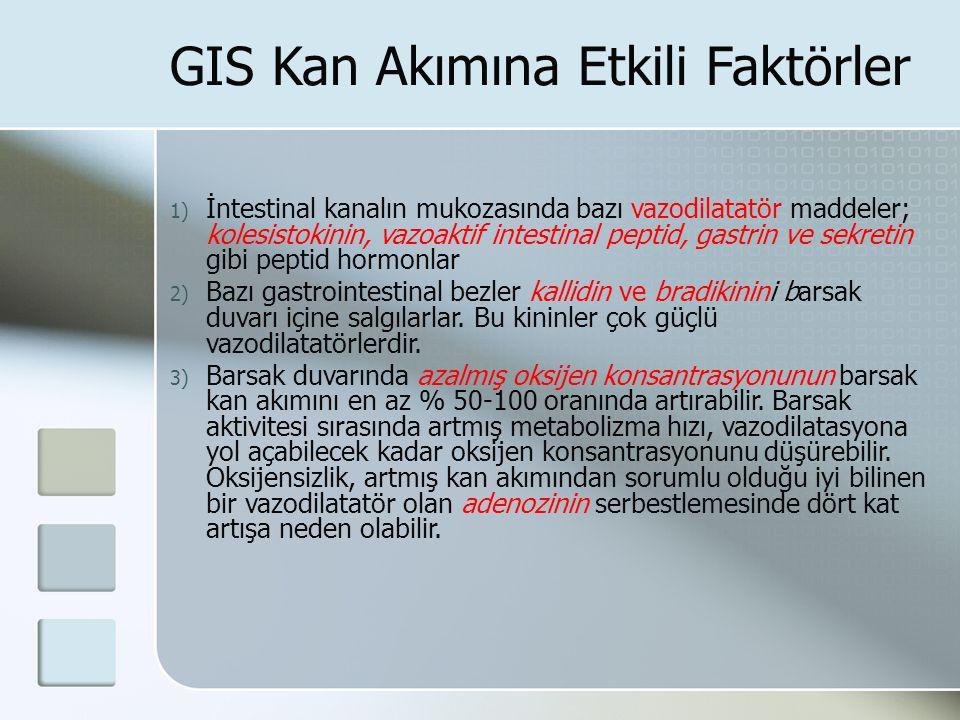 GIS Kan Akımına Etkili Faktörler