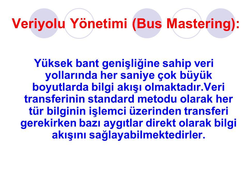 Veriyolu Yönetimi (Bus Mastering):