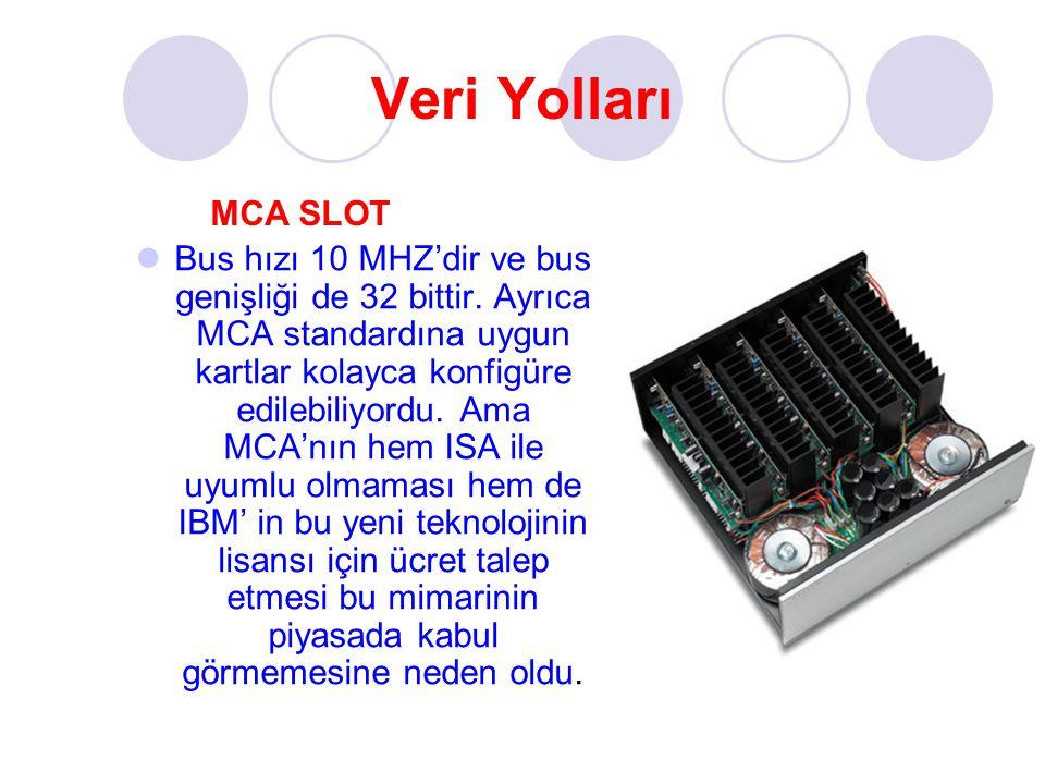 Veri Yolları MCA SLOT.