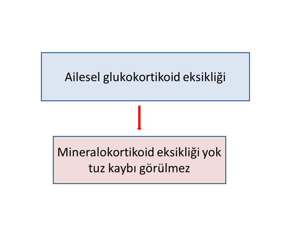 Ailesel glukokortikoid eksikliği