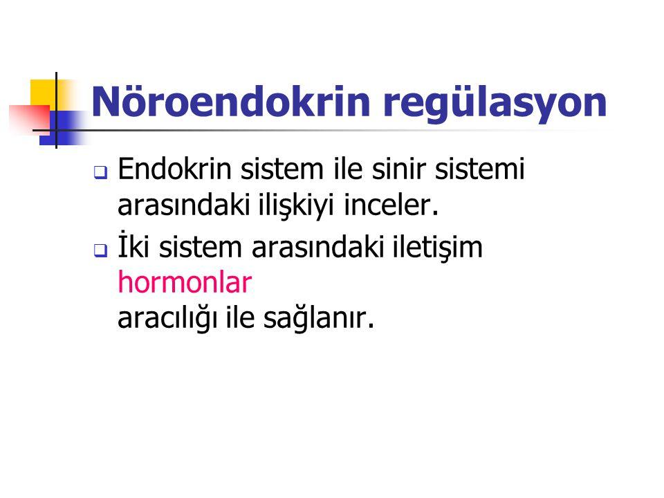 Nöroendokrin regülasyon