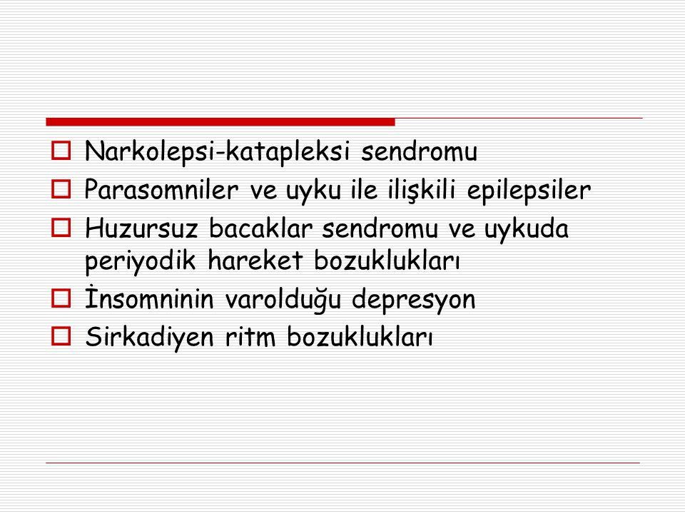 Narkolepsi-katapleksi sendromu