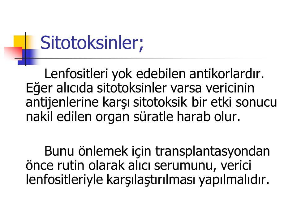 Sitotoksinler;