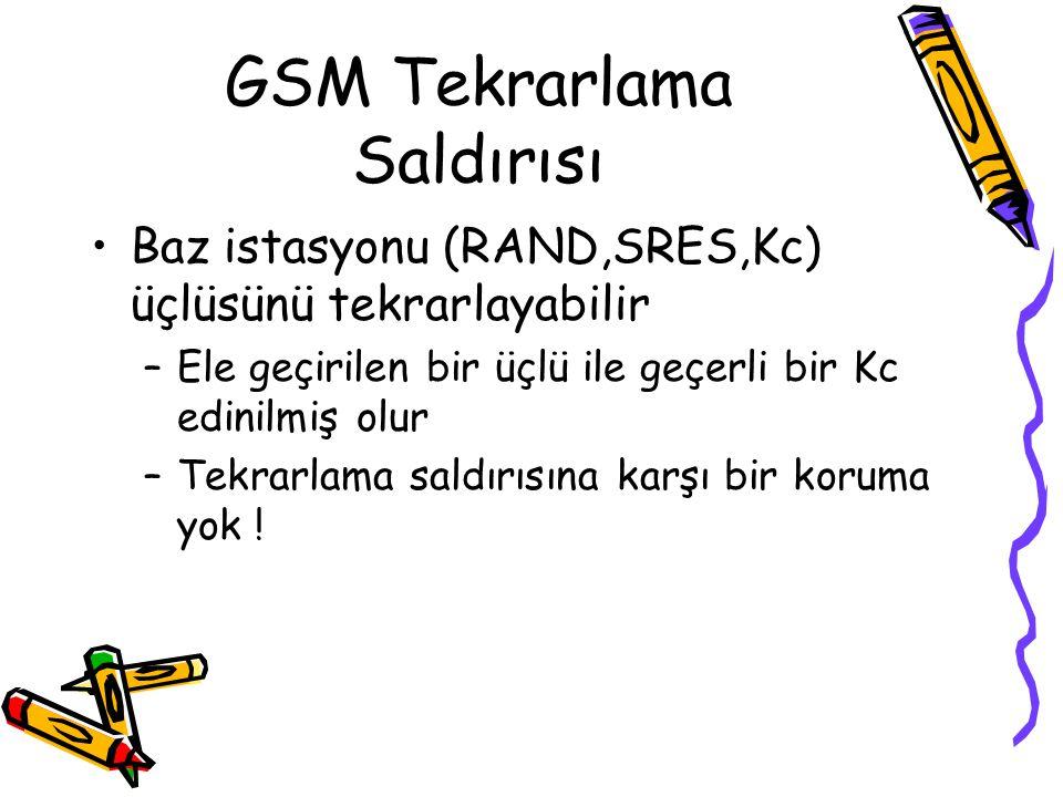 GSM Tekrarlama Saldırısı