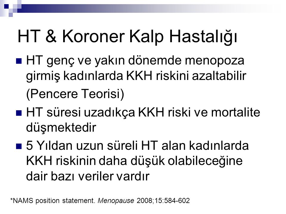 HT & Koroner Kalp Hastalığı