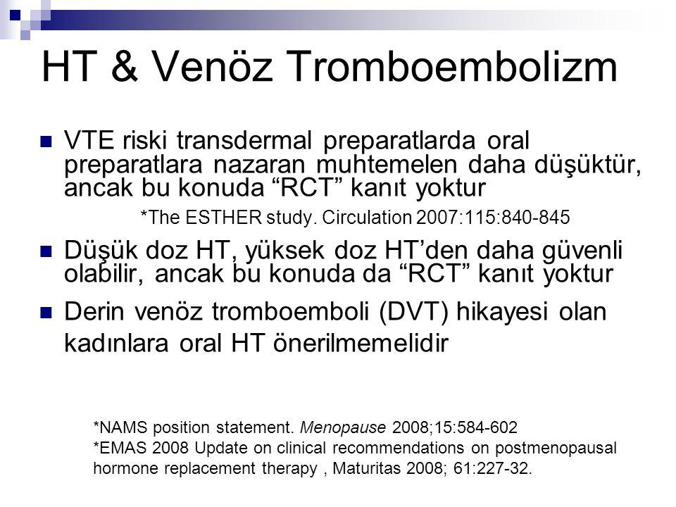 HT & Venöz Tromboembolizm