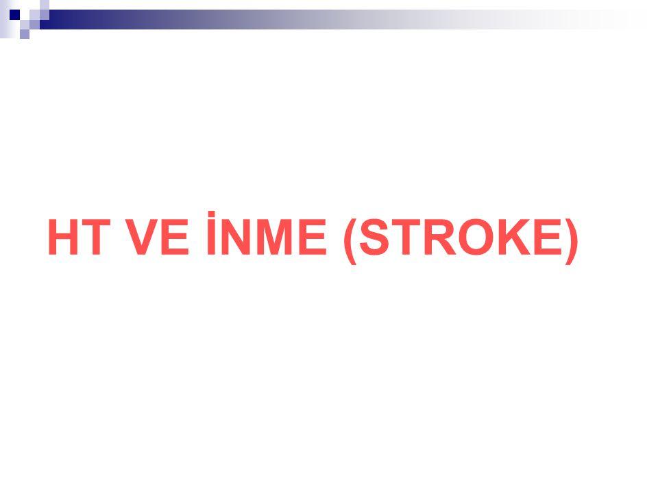 HT VE İNME (STROKE)