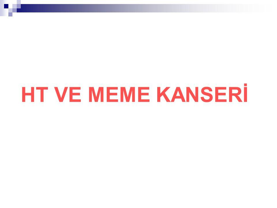 HT VE MEME KANSERİ