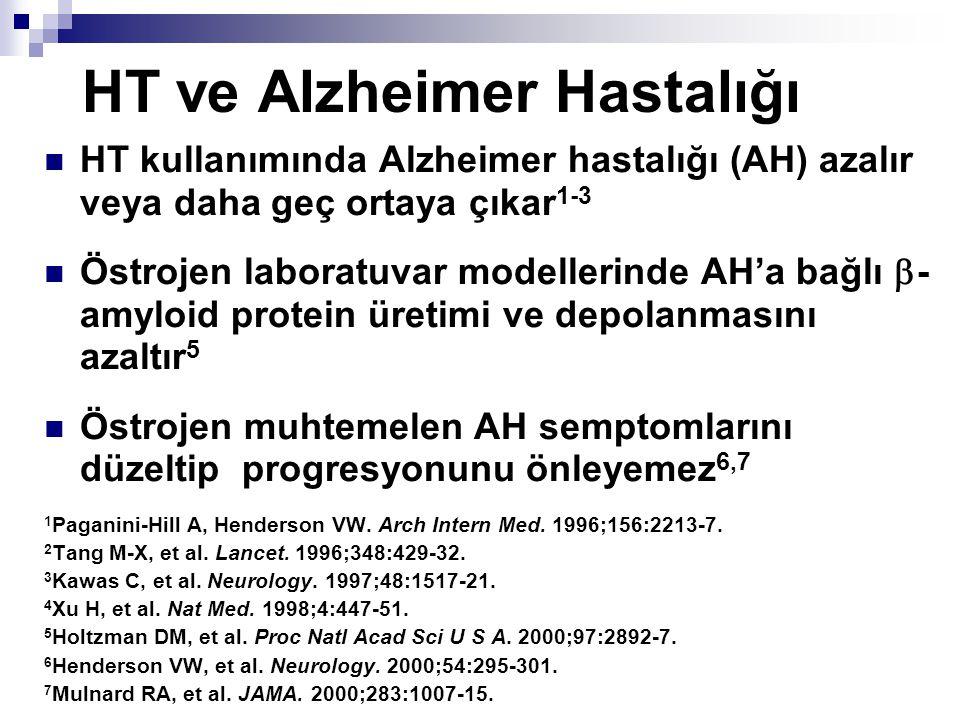 HT ve Alzheimer Hastalığı