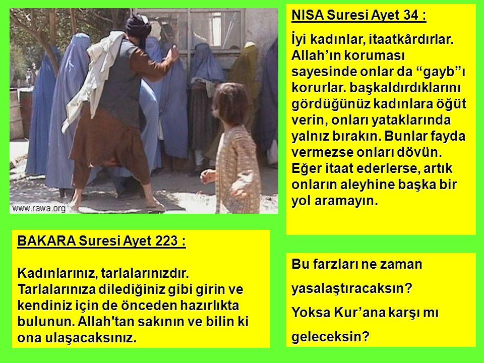 NISA Suresi Ayet 34 :