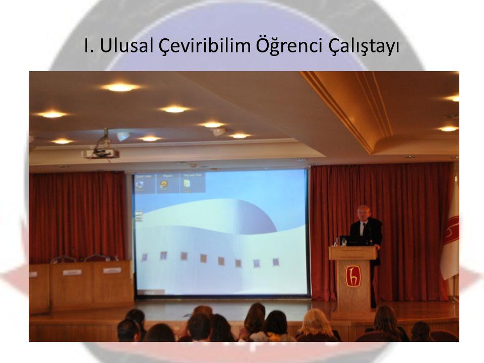 I. Ulusal Çeviribilim Öğrenci Çalıştayı