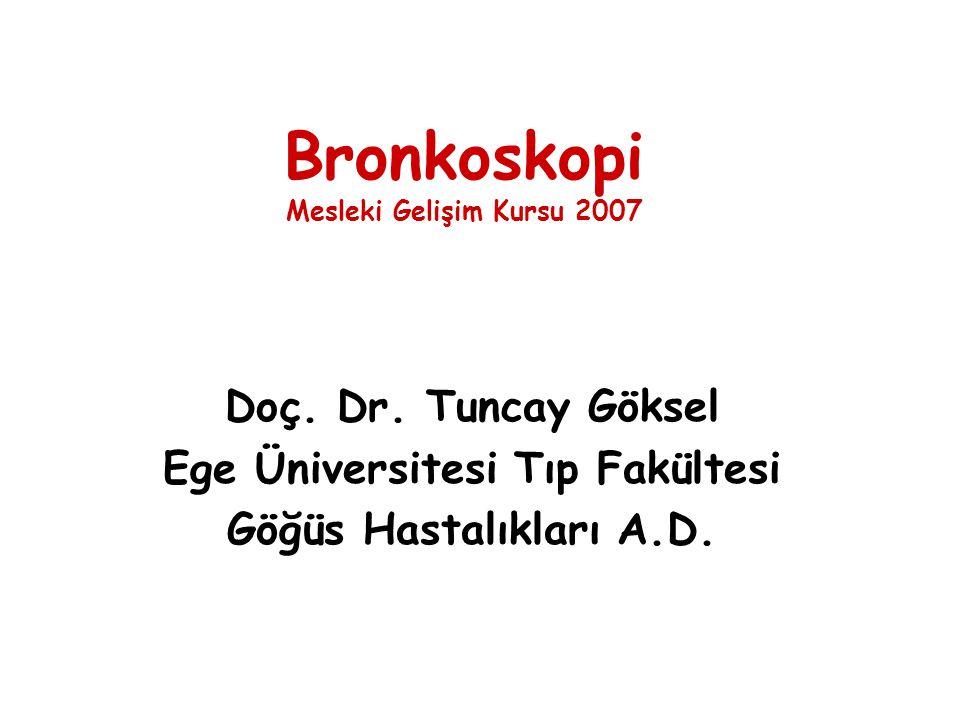 Bronkoskopi Mesleki Gelişim Kursu 2007