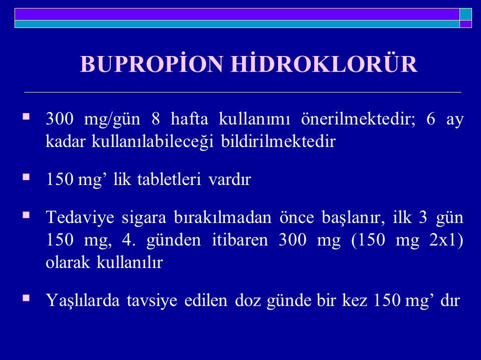 BUPROPİON HİDROKLORÜR