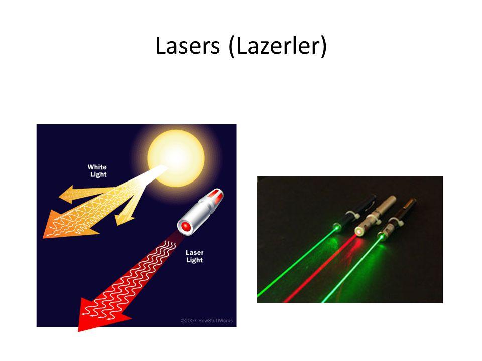 Lasers (Lazerler)