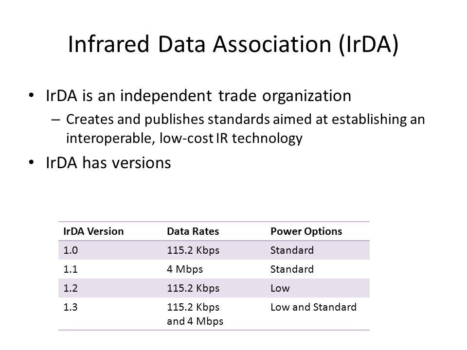 Infrared Data Association (IrDA)