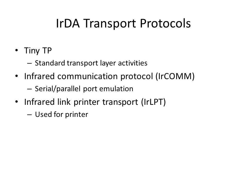 IrDA Transport Protocols