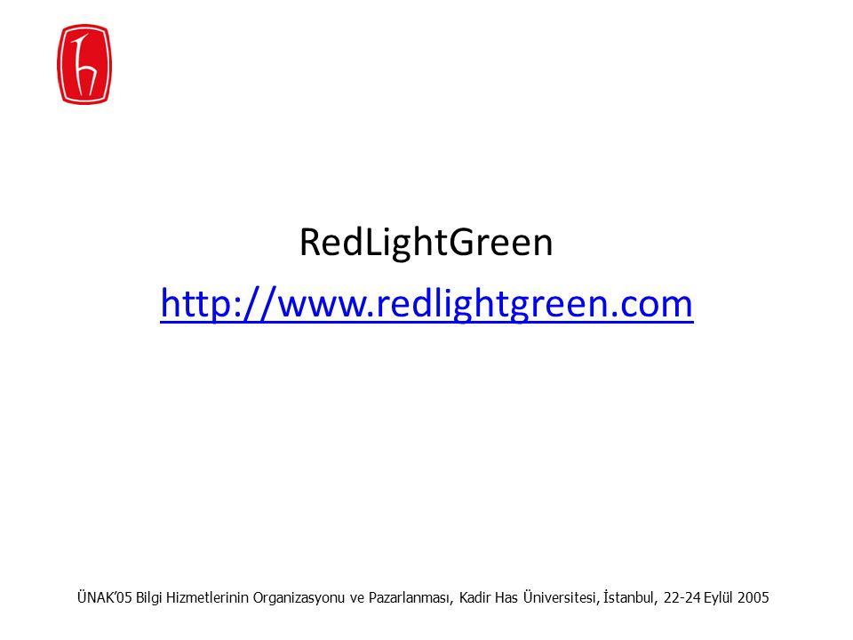 RedLightGreen http://www.redlightgreen.com