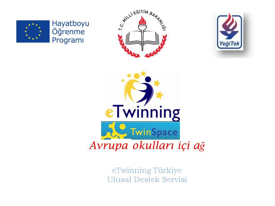 Avrupa okulları içi ağ eTwinning Türkiye Ulusal Destek Servisi