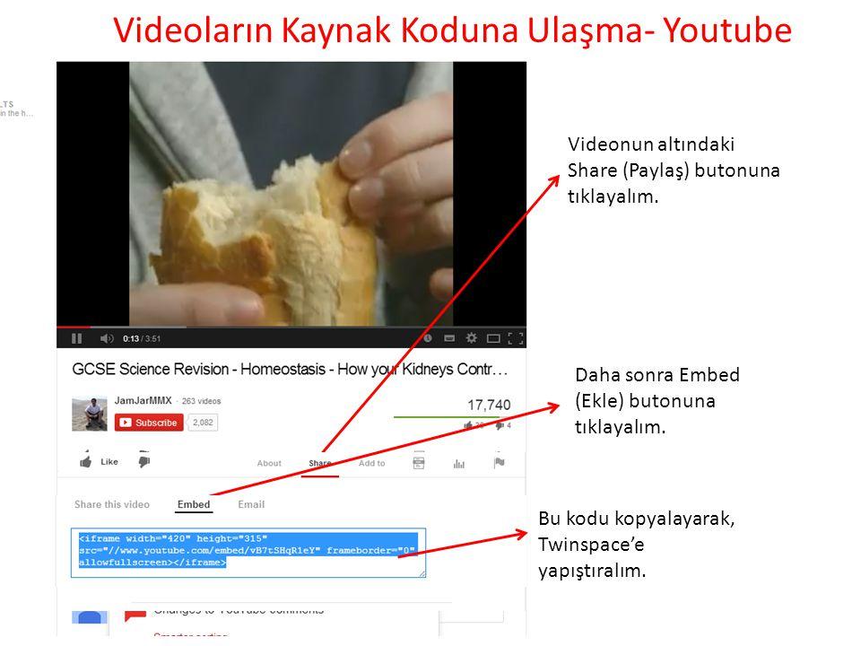 Videoların Kaynak Koduna Ulaşma- Youtube