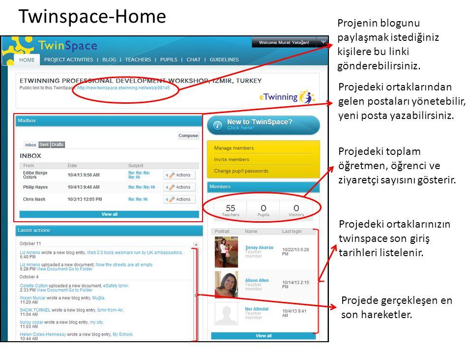 Twinspace-Home Projenin blogunu paylaşmak istediğiniz kişilere bu linki gönderebilirsiniz.