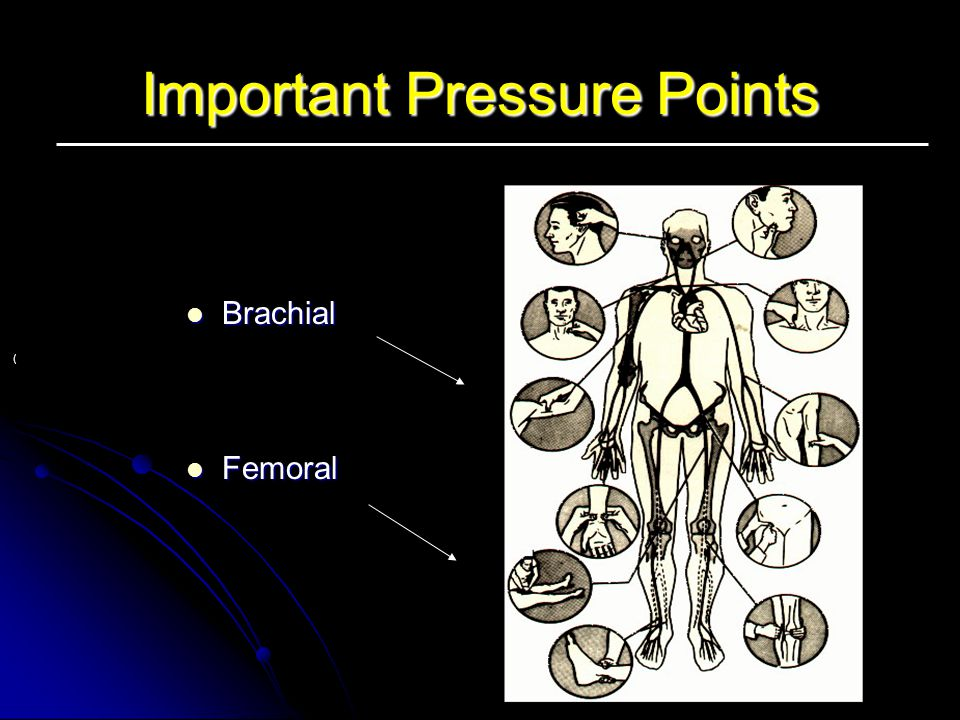 Important Pressure Points