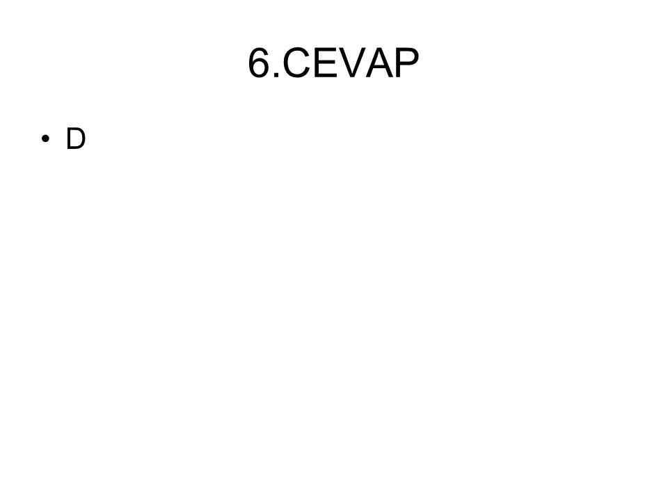 6.CEVAP D