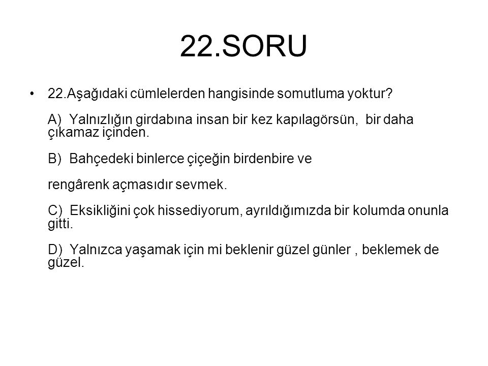 22.SORU