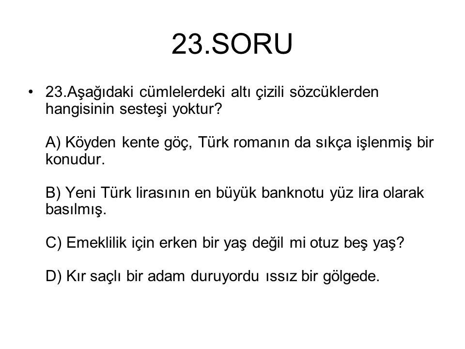 23.SORU