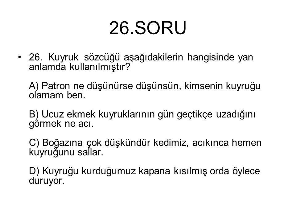 26.SORU