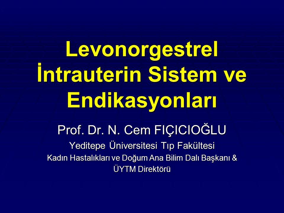 Levonorgestrel İntrauterin Sistem ve Endikasyonları